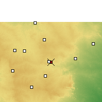 Nearby Forecast Locations - Secunderabad - Χάρτης