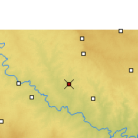 Nearby Forecast Locations - Solapur - Χάρτης