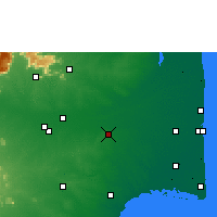 Nearby Forecast Locations - Thanjavur - Χάρτης