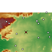 Nearby Forecast Locations - Tiruppur - Χάρτης