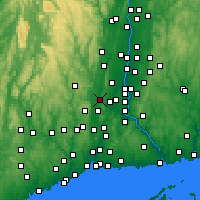 Nearby Forecast Locations - Plainville - Χάρτης
