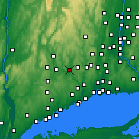 Nearby Forecast Locations - Southbury - Χάρτης