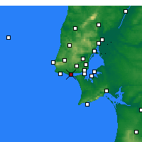 Nearby Forecast Locations - Oeiras - Χάρτης