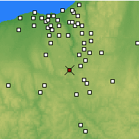 Nearby Forecast Locations - Barberton - Χάρτης
