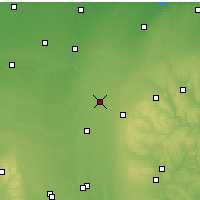 Nearby Forecast Locations - Bucyrus - Χάρτης