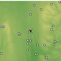 Nearby Forecast Locations - Mount Gilead - Χάρτης