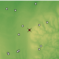 Nearby Forecast Locations - Galion - Χάρτης