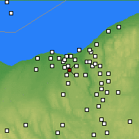 Nearby Forecast Locations - Middleburg Heights - Χάρτης