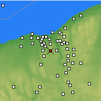 Nearby Forecast Locations - North Royalton - Χάρτης