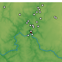 Nearby Forecast Locations - Norwood - Χάρτης