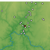 Nearby Forecast Locations - Sharonville - Χάρτης