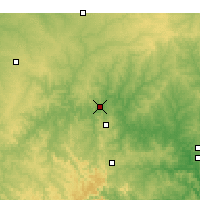 Nearby Forecast Locations - Branson - Χάρτης