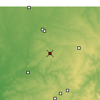 Nearby Forecast Locations - Neosho - Χάρτης