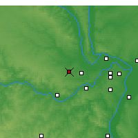 Nearby Forecast Locations - Wentzville - Χάρτης