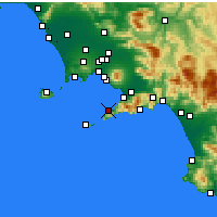 Nearby Forecast Locations - Sorrento - Χάρτης