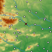 Nearby Forecast Locations - Ptuj - Χάρτης