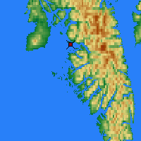 Nearby Forecast Locations - Sitka - Χάρτης
