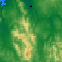 Nearby Forecast Locations - Buckland - Χάρτης