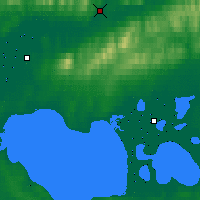 Nearby Forecast Locations - Kiana - Χάρτης