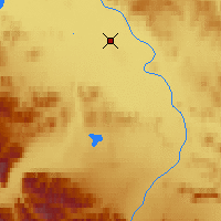 Nearby Forecast Locations - Northway - Χάρτης
