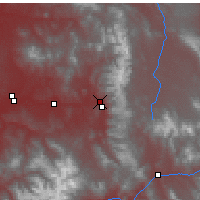 Nearby Forecast Locations - Steamboat Springs - Χάρτης