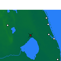 Nearby Forecast Locations - Okeechobee - Χάρτης