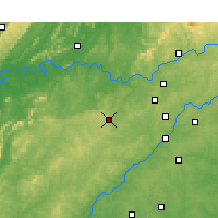 Nearby Forecast Locations - Paulding - Χάρτης