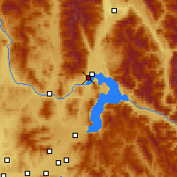Nearby Forecast Locations - Sandpoint - Χάρτης