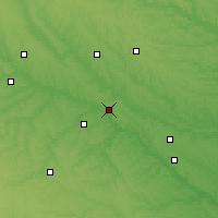 Nearby Forecast Locations - Pella - Χάρτης