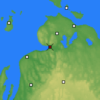 Nearby Forecast Locations - Harbor Springs - Χάρτης