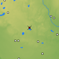 Nearby Forecast Locations - Paynesville - Χάρτης