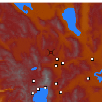 Nearby Forecast Locations - Ρίνο - Χάρτης