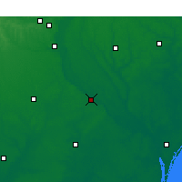 Nearby Forecast Locations - Elizabethtown - Χάρτης