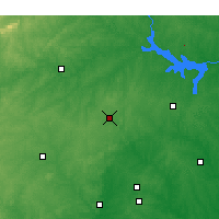 Nearby Forecast Locations - Roxboro - Χάρτης