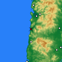 Nearby Forecast Locations - Pacific City - Χάρτης