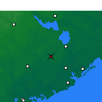 Nearby Forecast Locations - Summerville - Χάρτης