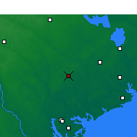 Nearby Forecast Locations - Walterboro - Χάρτης