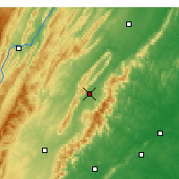 Nearby Forecast Locations - Luray - Χάρτης
