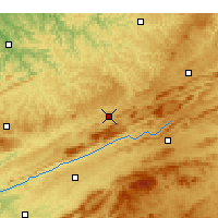 Nearby Forecast Locations - Richlands - Χάρτης