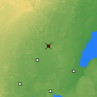 Nearby Forecast Locations - Shawano - Χάρτης