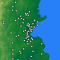 Nearby Forecast Locations - Everett - Χάρτης