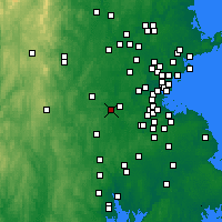 Nearby Forecast Locations - Framingham - Χάρτης
