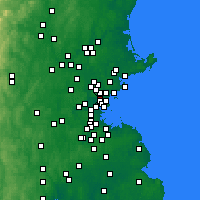 Nearby Forecast Locations - Malden - Χάρτης