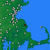Nearby Forecast Locations - Marshfield - Χάρτης