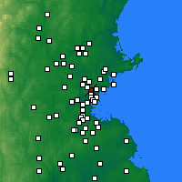 Nearby Forecast Locations - Melrose - Χάρτης