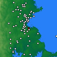 Nearby Forecast Locations - Quincy - Χάρτης
