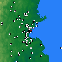 Nearby Forecast Locations - Revere - Χάρτης