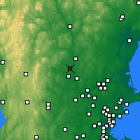 Nearby Forecast Locations - Merrimack - Χάρτης