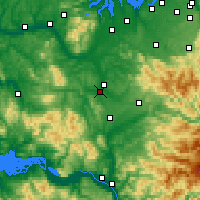 Nearby Forecast Locations - Chehalis - Χάρτης