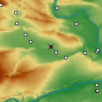 Nearby Forecast Locations - Sunnyside - Χάρτης